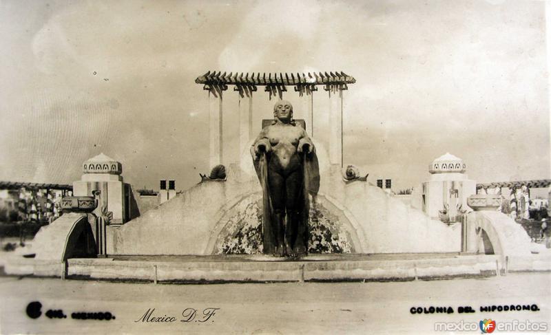Colonia del Hipodromo Hacia 1930