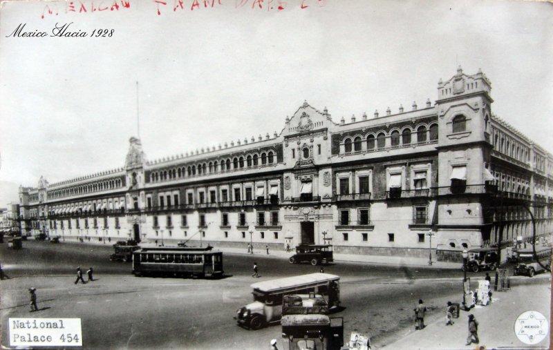 Palacio Nacional Hacia 1920