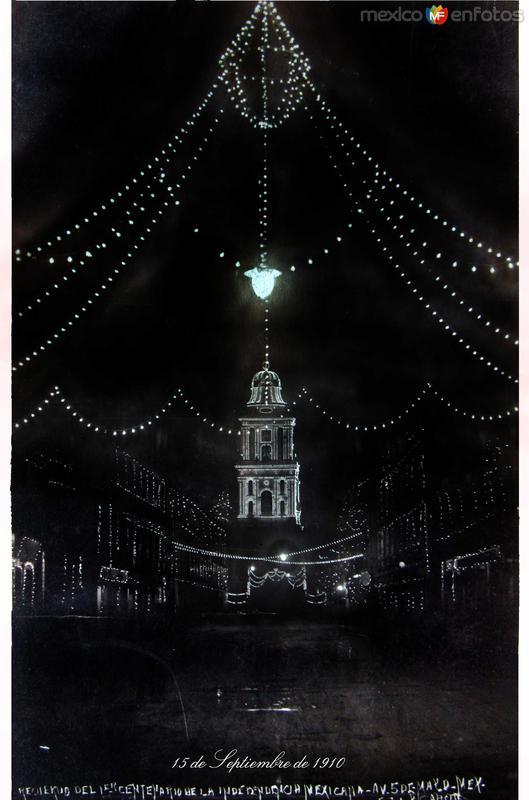 La Catedral EL 15 DESEPTIEMBREDE 1910 Hacia 1910