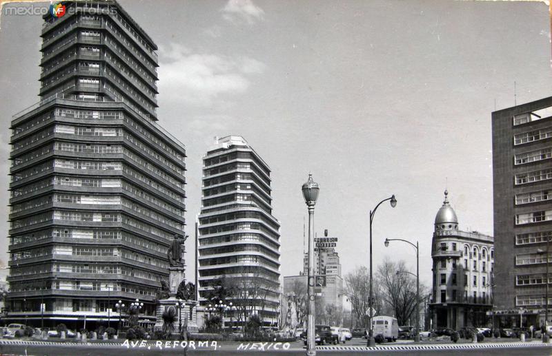 Avenidas de la Reforma Hacia 1945