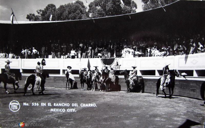 Rancho del Charro Hacia 1945
