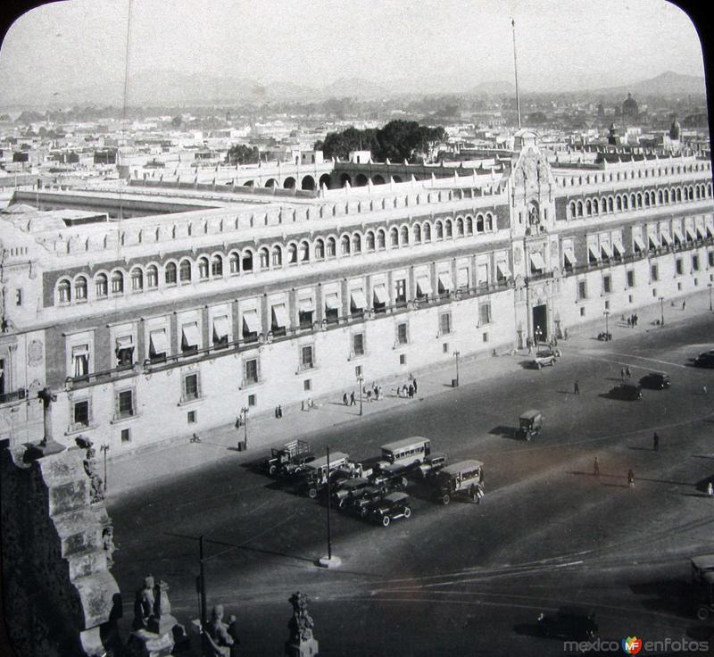 Palacio Nacional Hacia 1930