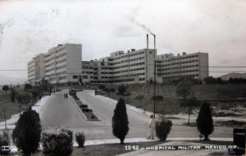Hospital Militar Hacia 1945