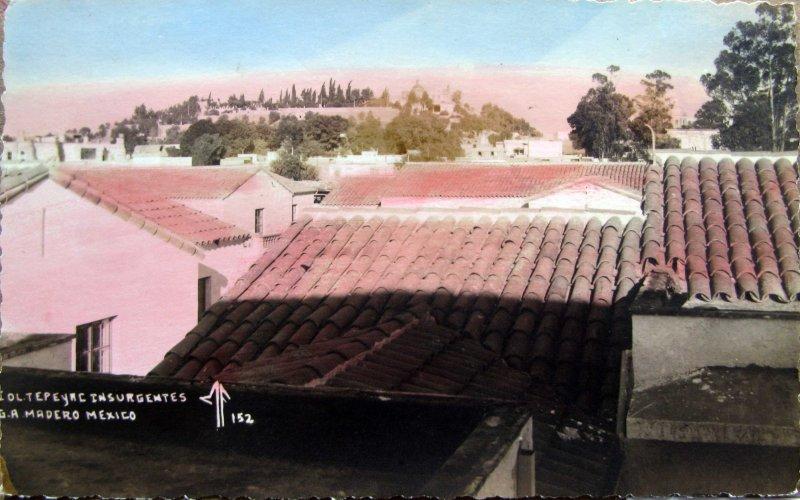 Panorama de la Villa de Guadalupe Y CERRO DEL TEPEYAC Hacia 1940
