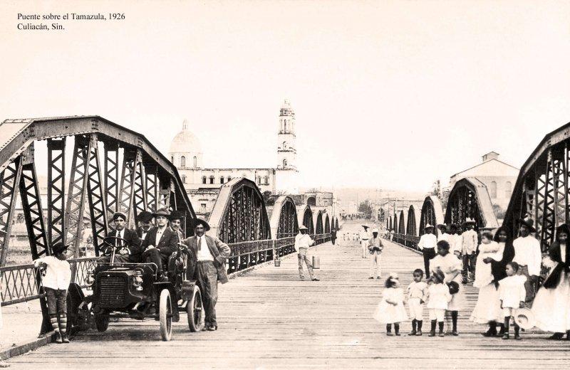 Culiacán, puente sobre el Río Tamazula
