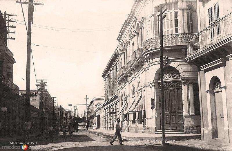 Mazatlán, calle principal