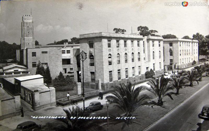Departamento de Salubridad Hacia 1945
