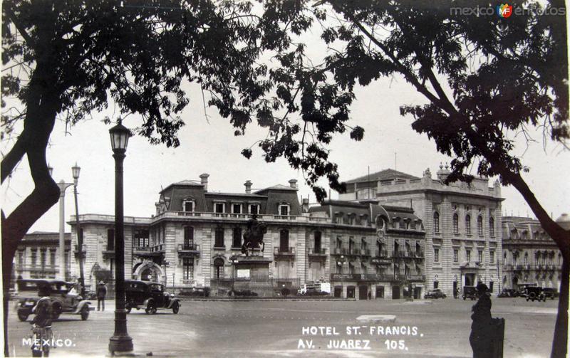 Hotel San Francis Hacia 1930