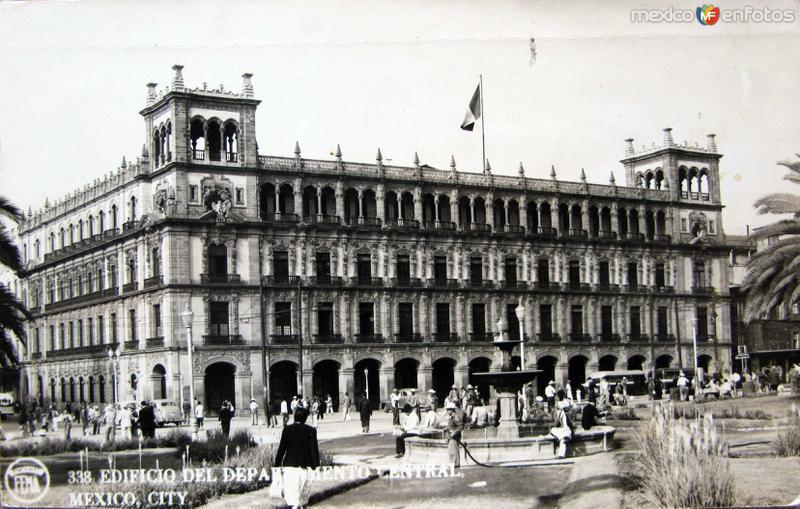 Edificio del Dto. Central Hacia 1945