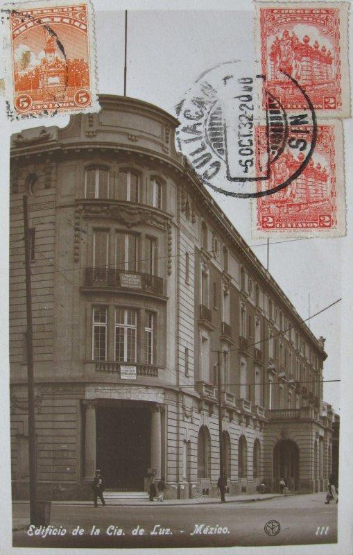 Edificio de la Cia. de Luz Hacia 1932