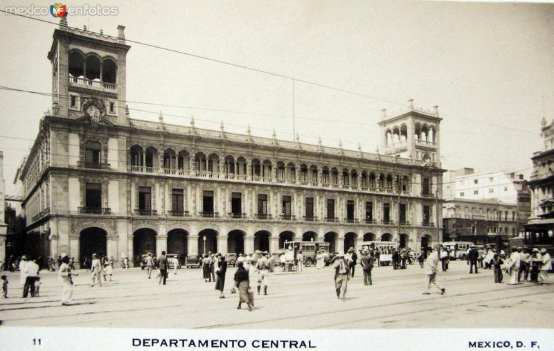 Departamento central Hacia 1945