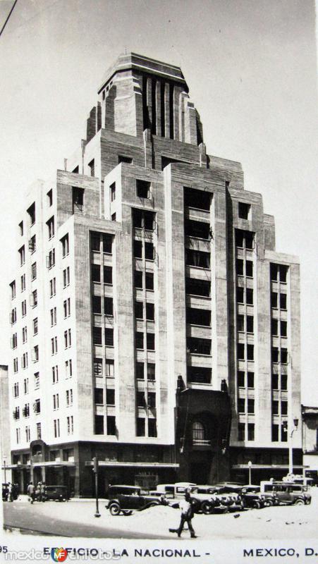 Edificio La Nacional Hacia 1945