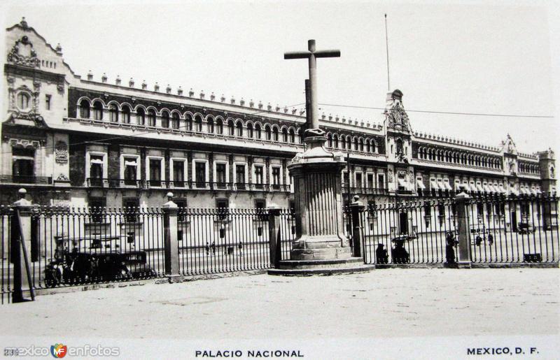 Palacio nacional Hacia 1945