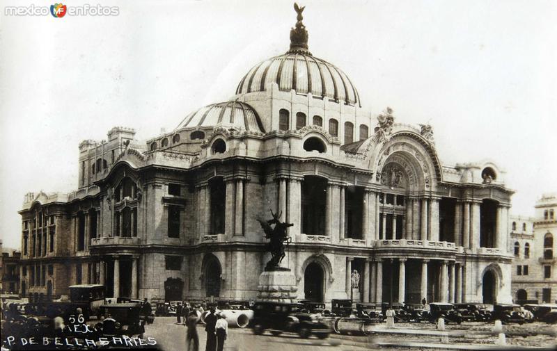 Palacio de Bellas Artes Hacia 1945