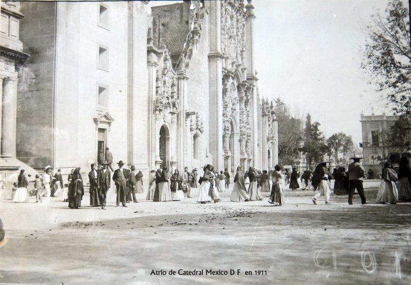 Artrio de la Catedral Hacia 1911