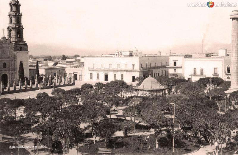 Aguascalientes, Plaza Principal