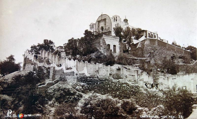 El Cerrito de la Villa de Guadalupe Hacia 1930