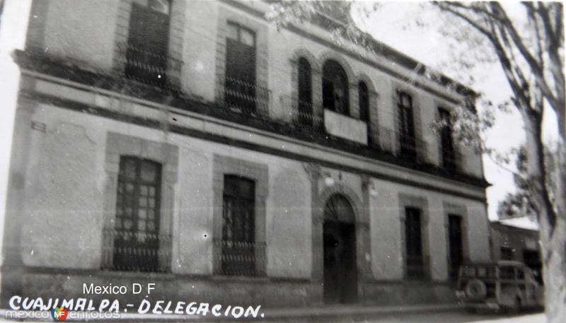 Cuajimalpa Delegacion Hacia 1945