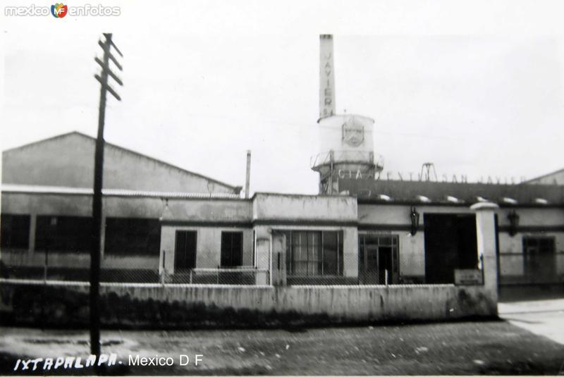 Ixtapalapa Fabrica Textil San Javier Hacia 1945
