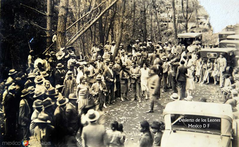 Desierto de Los Leones Hacia 1930