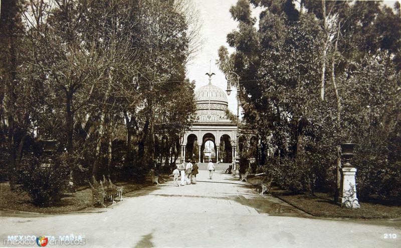Alameda de Sta. Maria Hacia 1930