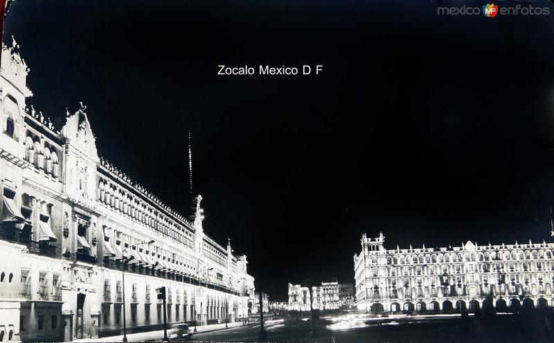 Zocalo Hacia 1945
