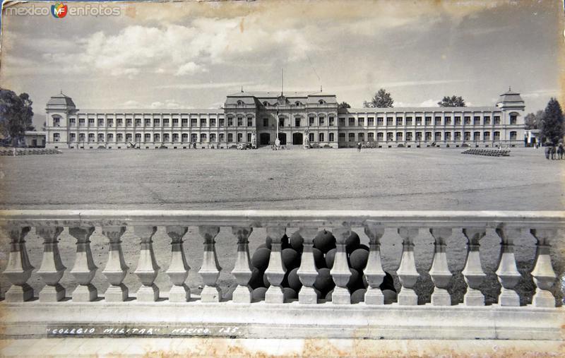 Colegio militar Hacia 1945
