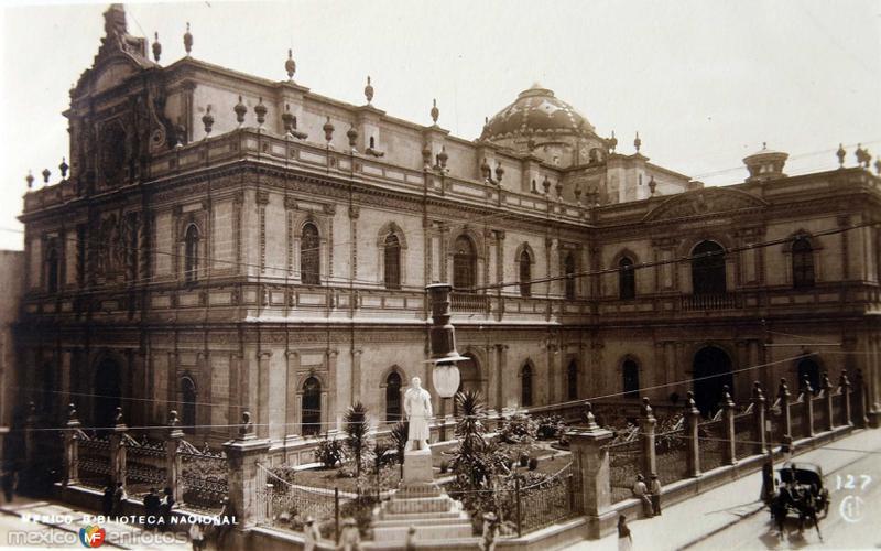 Biblioteca Nacional Hacia 1930