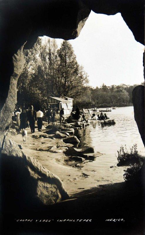 Chapultepec Hacia 1945