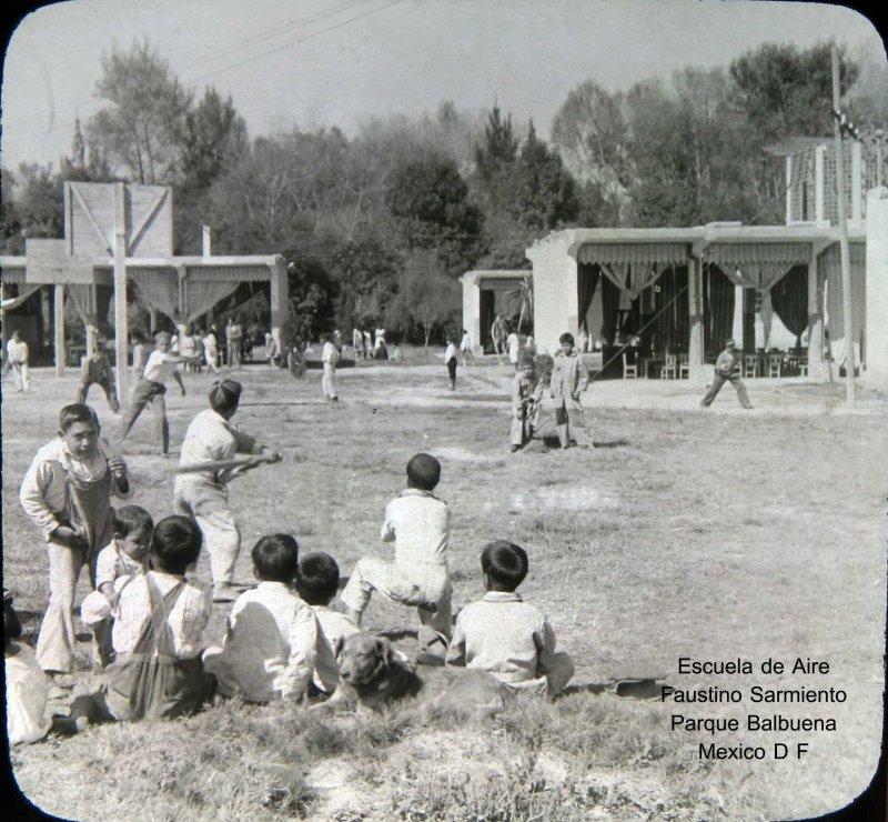 Escuela Faustino Sarmiento Hacia 1930