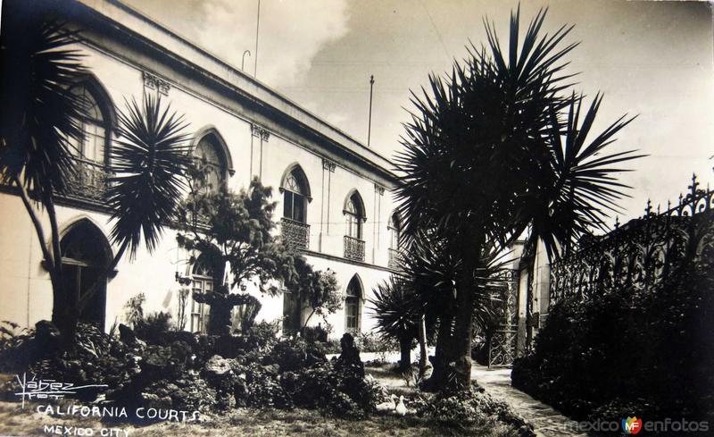 California Courts Hacia 1945