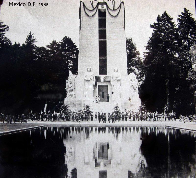 Inauguración del monumento a Alvaro Obregón (1935)