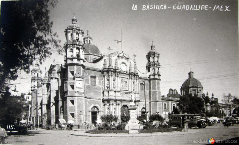 Basilica de Guadalupe Hacia 1920