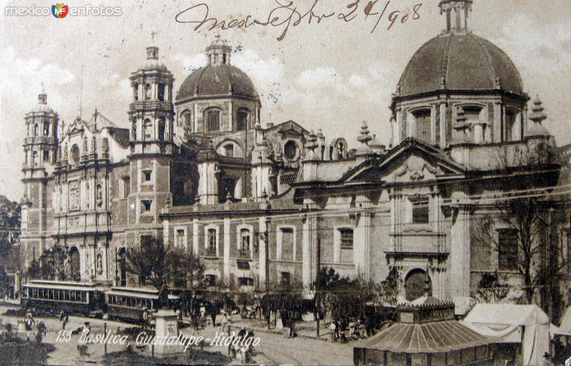 Basilica de Guadalupe Hacia 1908