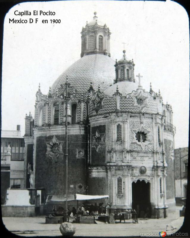 Basilica de Guadalupe El POCITO Hacia 1920