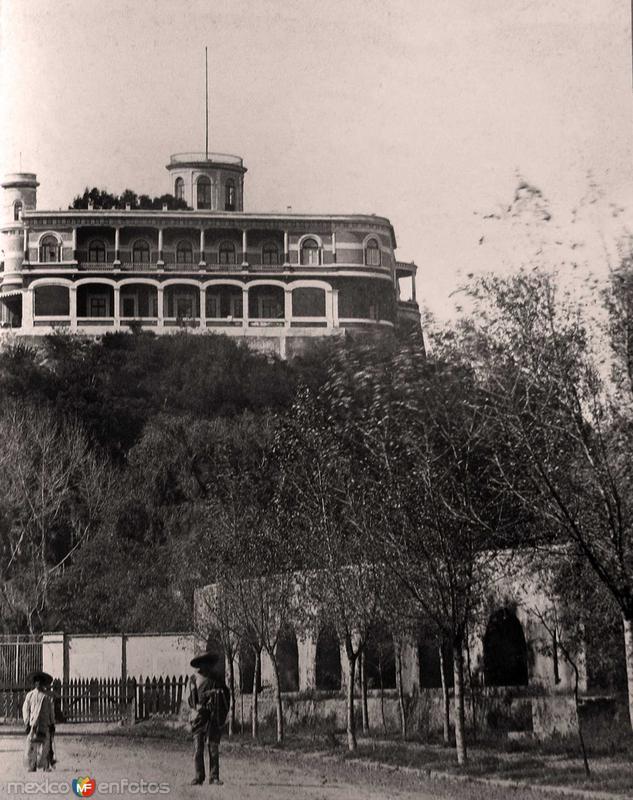 Castillo de Chapultepec Hacia 1900