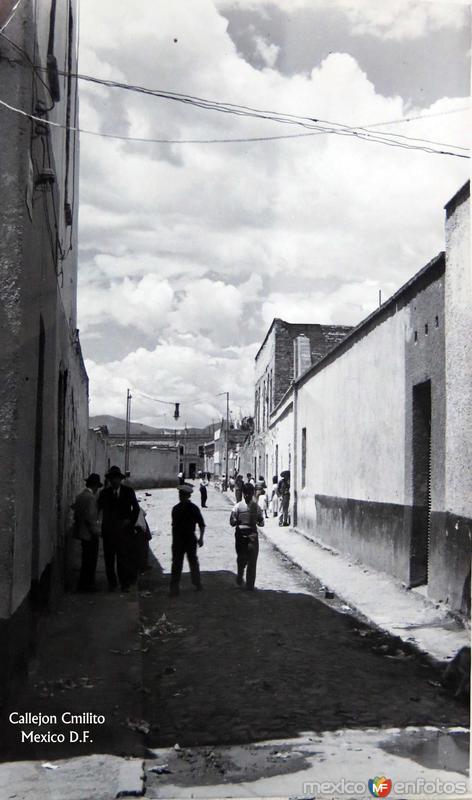 CALLEJON CAMILITO hacia 1945