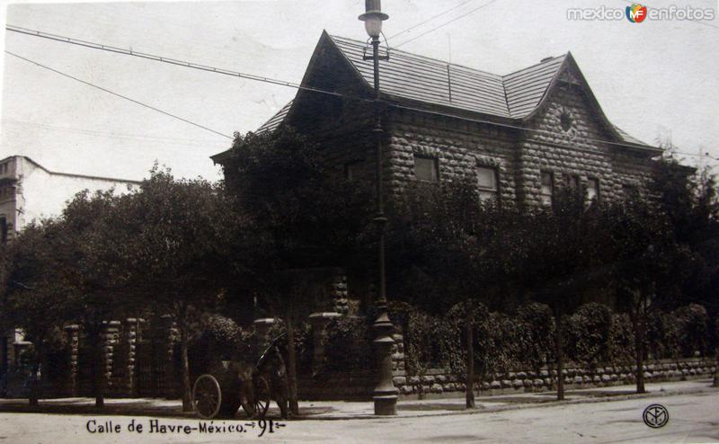 Calle Havre Hacia 1930