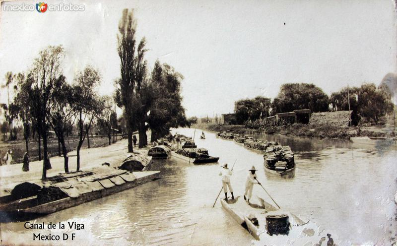 Canal de la Viga Hacia 1926
