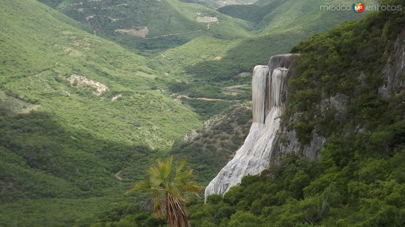 Cascadas Petrificadas de Hierve el Agua. Julio/2014