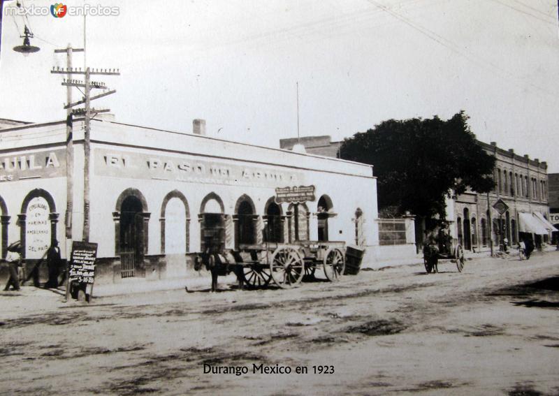 Escena Callejera Hacia 1923