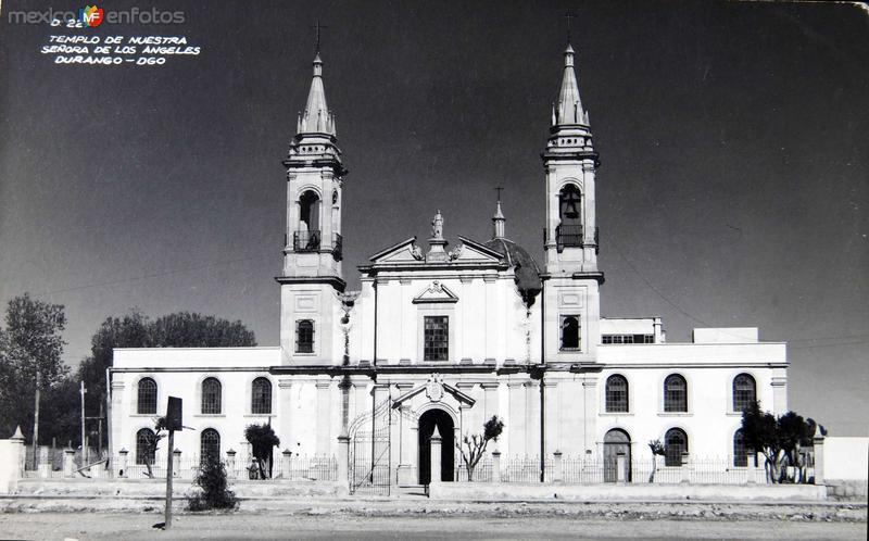 Templo de Ntra. Senora de los Angeles Hacia 1945