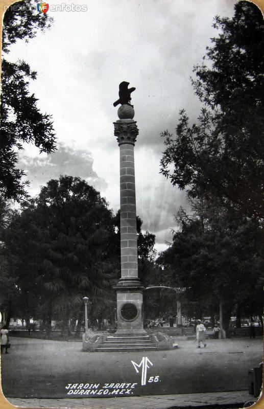 Jardin Zarate Hacia 1945