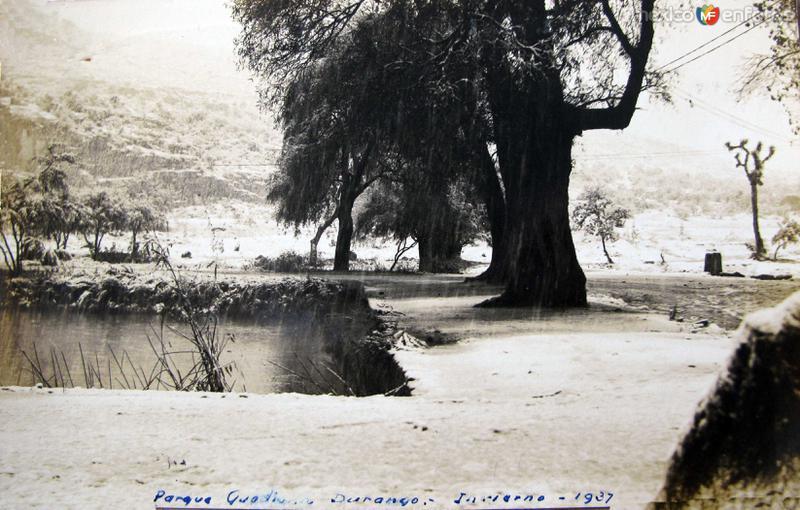 Parque Guadiana Invierno de 1937