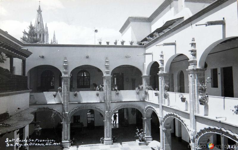 Posada de Sn. Francisco Hacia 1945