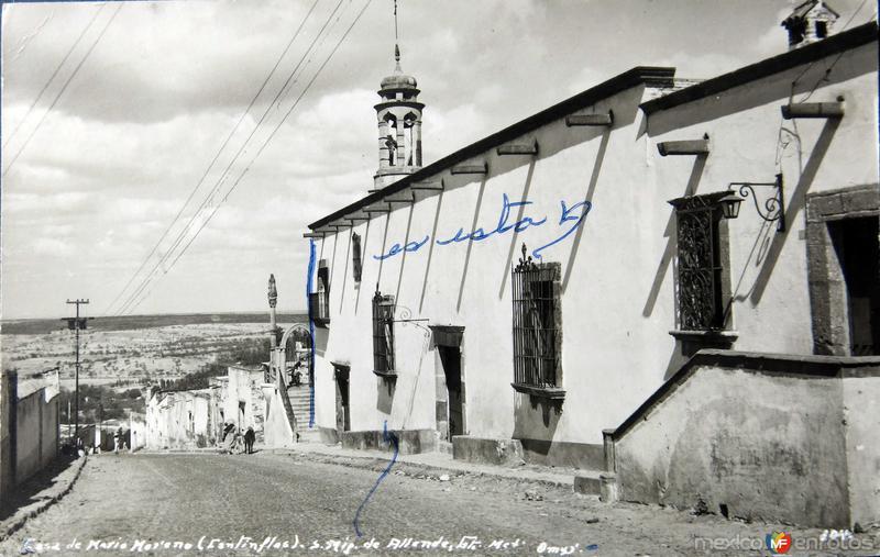 Casa de Cantinflas Hacia 1945