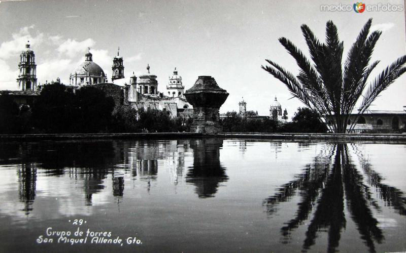 Grupo de Torres Hacia 1945