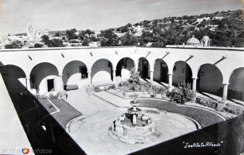 Instituto Allende Hacia 1945