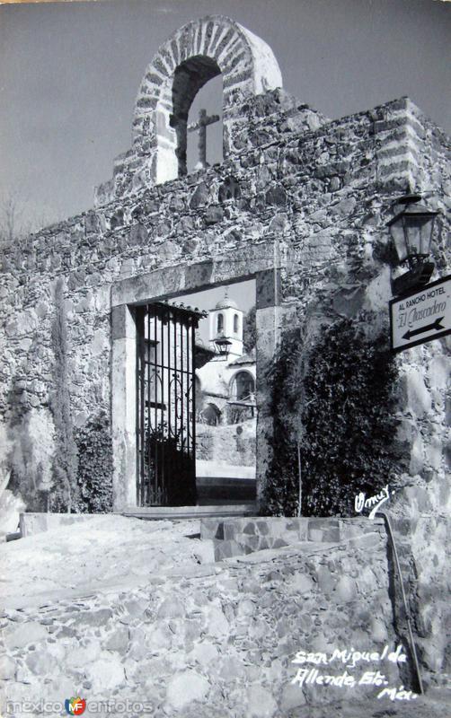 Al Rancho Hotel Hacia 1945