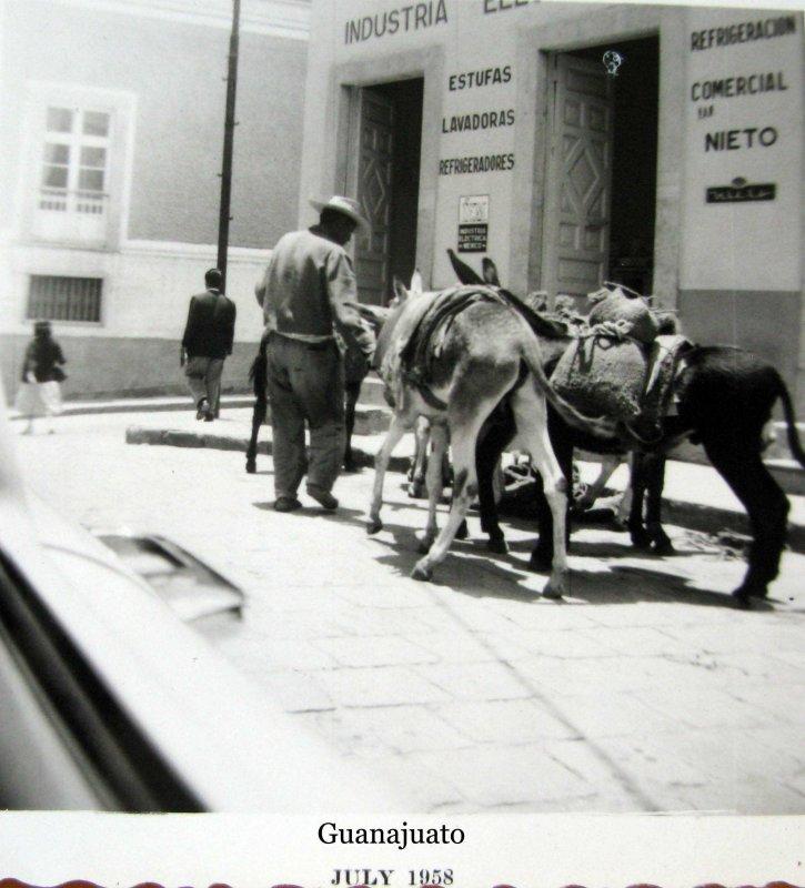 Un Arriero Hacia 1958